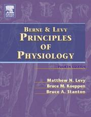 Cover of: Berne & Levy Principles of Physiology