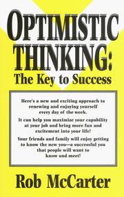 Cover of: Optimistic thinking
