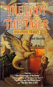 Cover of: Lady or the Tiger and Other Short Stories