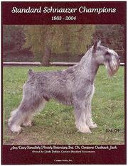 Cover of: Standard Schnauzer Champions, 1983-2004