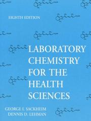 Cover of: Laboratory Chemistry for the Health Sciences
