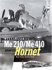 Cover of: Messerschmitt Me 210/Me 410 Hornet