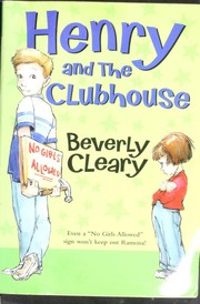 Cover of: Henry and the Clubhouse