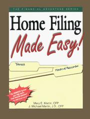 Cover of: Home Filing Made Easy!