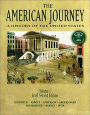 Cover of: The American Journey