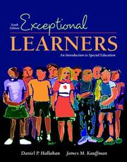 Cover of: Exceptional Learners