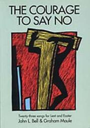 Cover of: Courage to Say No