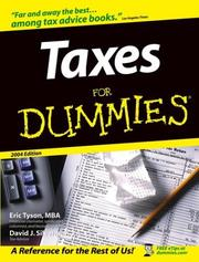 Cover of: Taxes for Dummies 2004