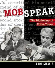 Cover of: Mobspeak