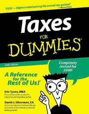 Cover of: Taxes for Dummies