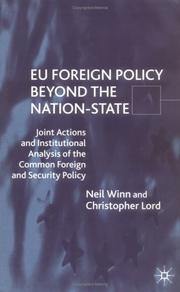 Cover of: EU Foreign Policy Beyond the Nation-State