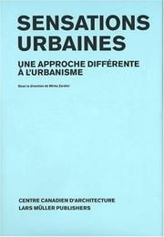 Cover of: Sensations urbaines