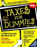 Cover of: Taxes for Dummies 1995 (--For Dummies)