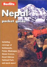 Cover of: Nepal (Berlitz Pocket Guides)