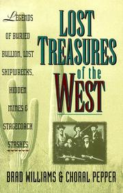 Cover of: Lost Treasures of the West
