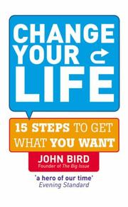 Cover of: Change Your Life