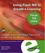 Cover of: Using Flash MX to Create e-Learning