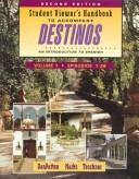 Cover of: Student Viewer's Handbook to Accompany Destinos