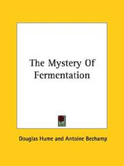 Cover of: The Mystery of Fermentation
