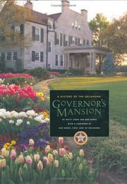 Cover of: A History of the Oklahoma Governor's Mansion