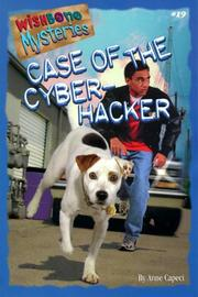 Cover of: Case of the Cyber-Hacker (Wishbone Mysteries No. 19)