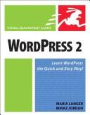 Cover of: WordPress 2