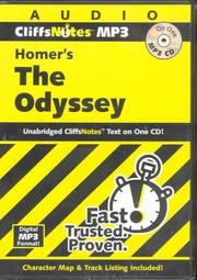 Cover of: Homer's Odyssey