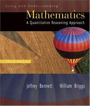 Cover of: Using and Understanding Mathematics