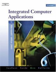 Cover of: Integrated Computer Applications, Modules 1-8 (with Data CD-ROM)