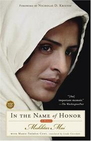 Cover of: In the Name of Honor