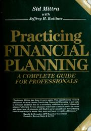 Cover of: Practicing Financial Planning