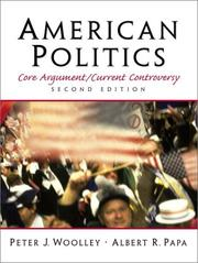 Cover of: American Politics