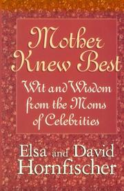 Cover of: Mother Knew Best