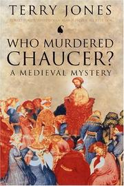 Cover of: Who Murdered Chaucer? A Medieval Mystery