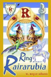 Cover of: The Ring from Rairarubia (The Rairarubia Tales, 5)