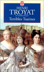 Cover of: Terribles tsarines english