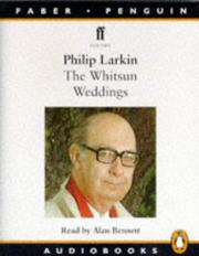 Cover of: The Whitsun Weddings (Audio, Faber)
