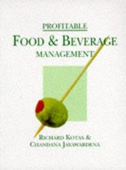Cover of: Profitable Food and Beverage Management