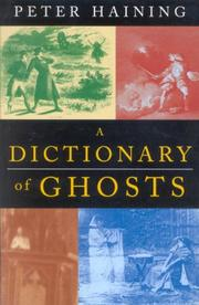 Cover of: A dictionary of ghosts