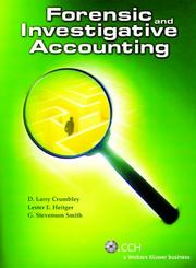 Cover of: Forensic and Investigative Accounting (Third Edition)