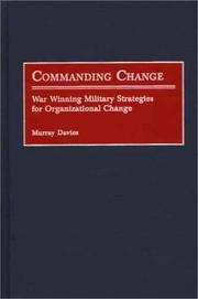 Cover of: Commanding Change