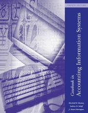 Cover of: Casebook in Accounting Information Systems