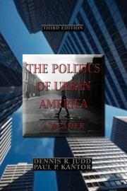 Cover of: The Politics of Urban America