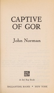 Cover of: Captive of Gor