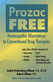 Cover of: Prozac-Free