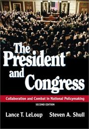 Cover of: The President and Congress