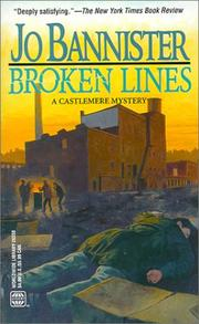 Cover of: Broken Lines (A Castlemere mystery)