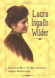 Cover of: Laura Ingalls Wilder