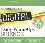 Cover of: Digital Daily Warm-Ups, Science, Grades 5-8
