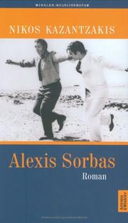 Cover of: Alexis Sorbas.